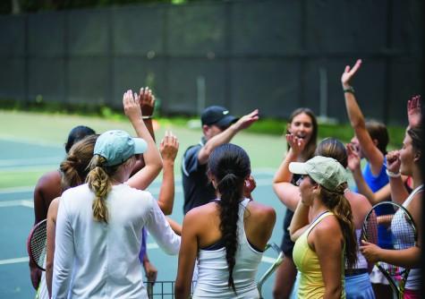 Girls' Varsity Tennis Gears Up For A Winning Season