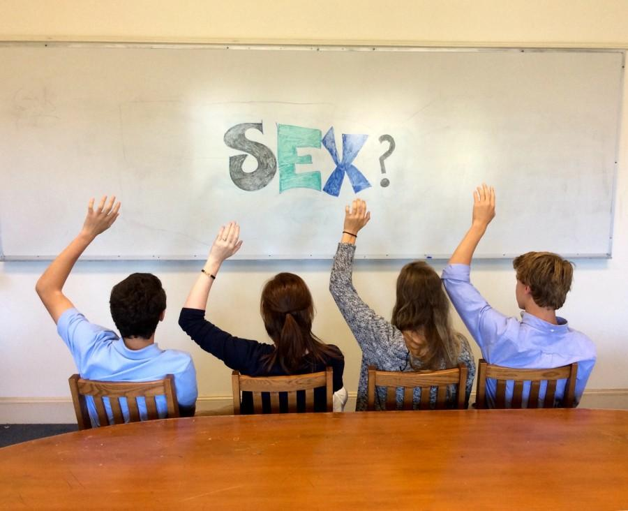 Students ask questions about sex education in their Health classes.