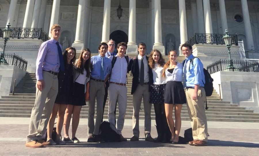 The Government and Politics Class visited the USDA building to debate Genetically Modified Organisms.
