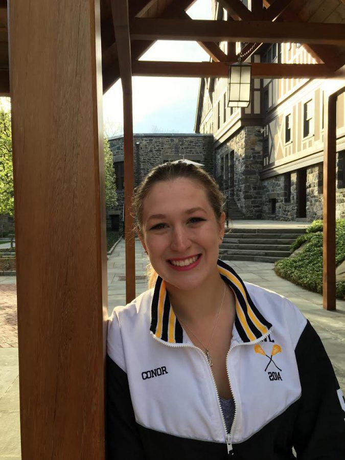 Morgan Connor looks forward to her internship in sports medicine.