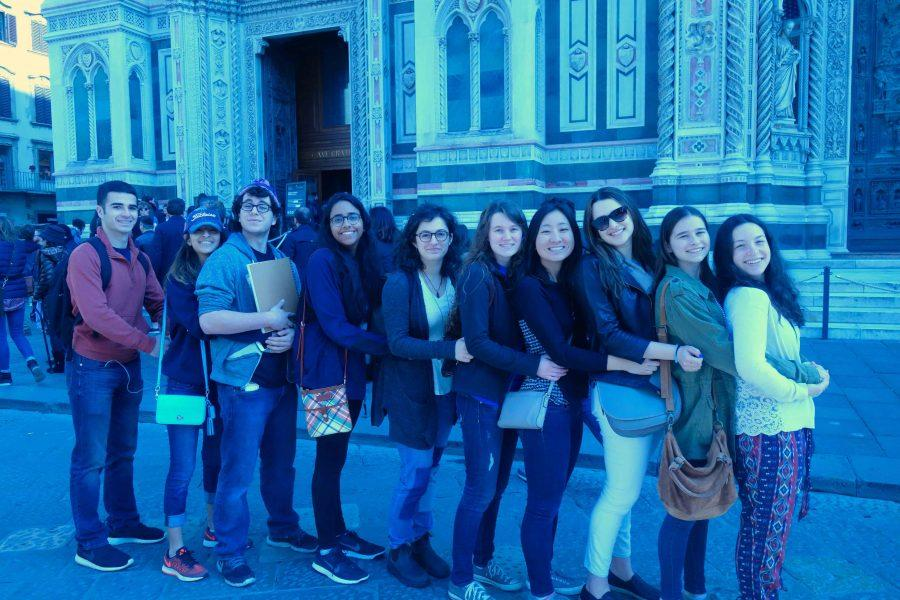 enior AP Art students visited several galleries, museums, and cathedrals on their trip to Florence, Italy.