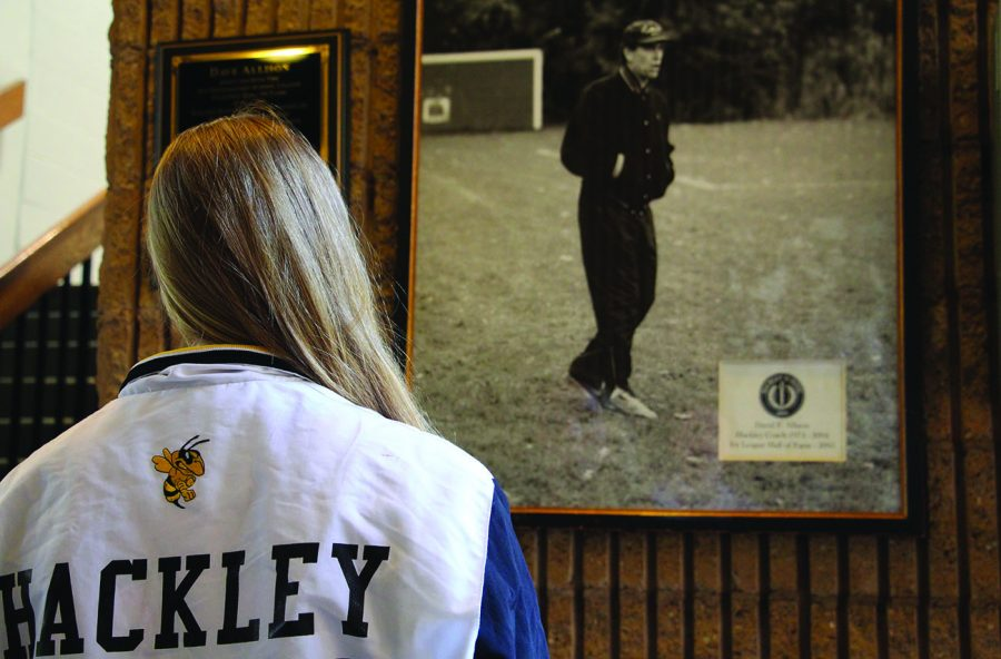 Hackley athletic community commemorated Coach Dave Allison in Girls' Soccer game