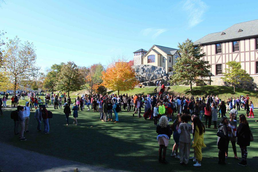 Akin Common was the site of this years Halloween parade.
