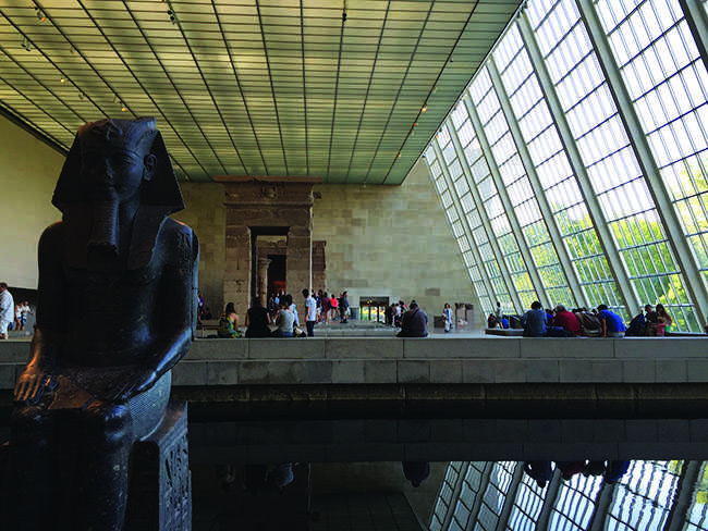 The Temple of Dendur isjust one of the Met's many intriguing exhibits.