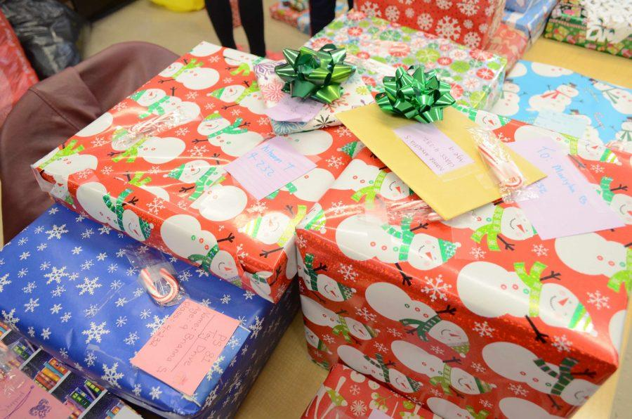Hackley students donated over 110 gifts to P.S. 81 last year.