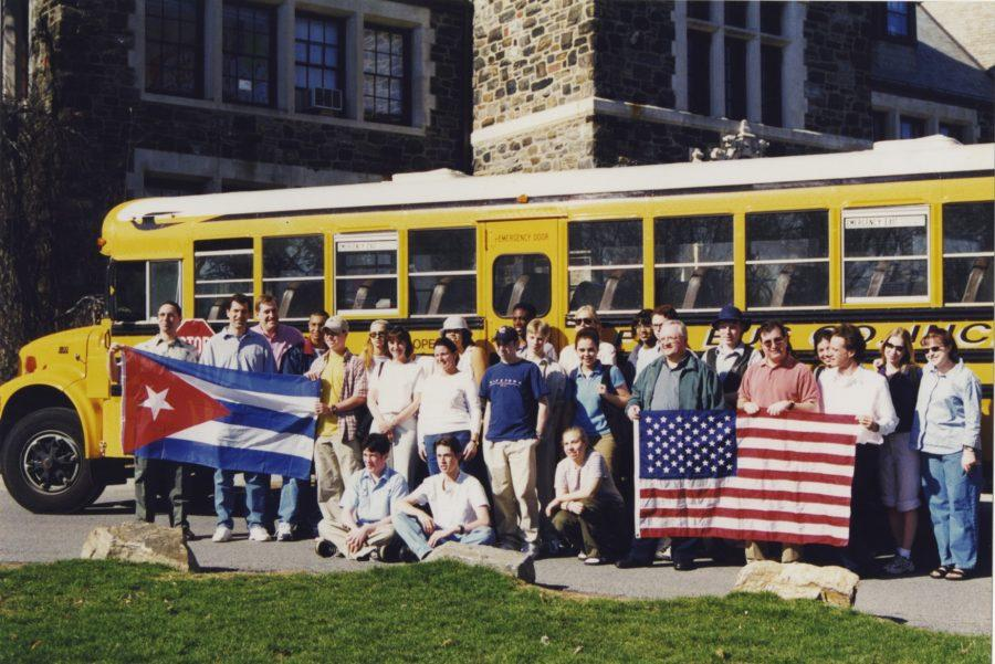 Hackley's first student delegation traveled to Cuba in 2000.