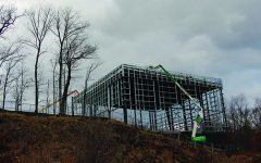 Health and Wellness Center construction progresses swiftly