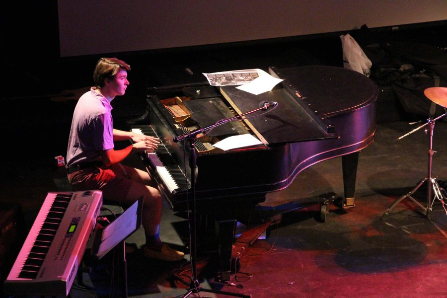 Jackson is a member of the House Band, in addition to performing gigs outside of Hackley.