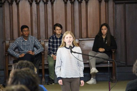 Poetry Out Loud captivates audience with outstanding performances