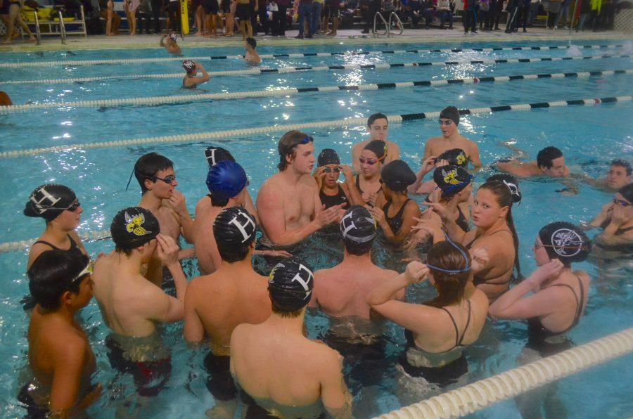 The+Varsity+Swimming+team+competes+at+last+year%27s+Winter+Sting.