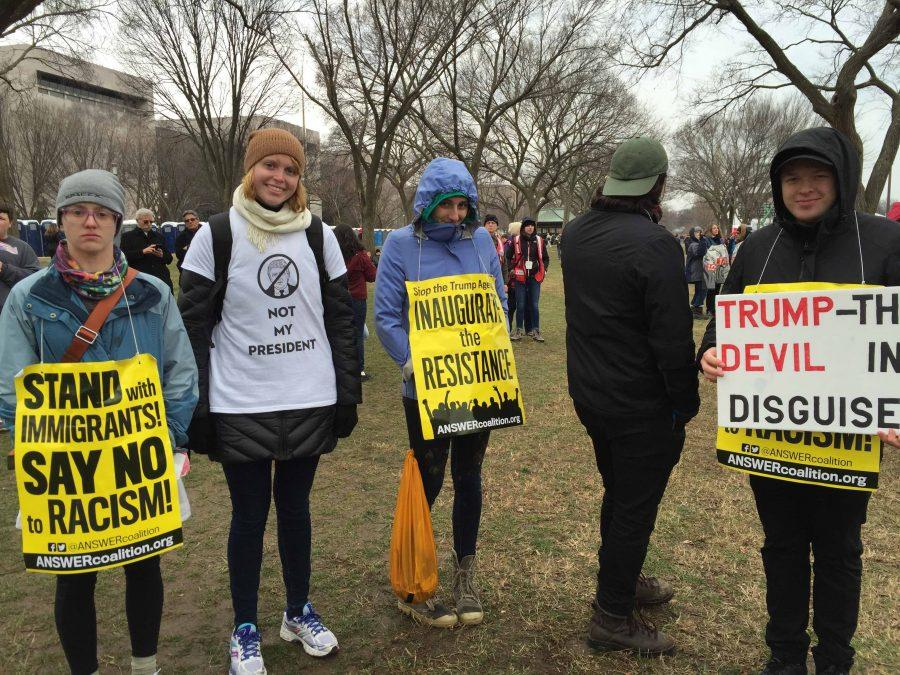 Trump's inauguration provokes polarized sentiments across the United States, mobilizes protests and increases nationalism amongst the population.