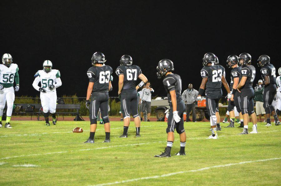 The football team has already begun training for the 2017 season, practicing a new offense.