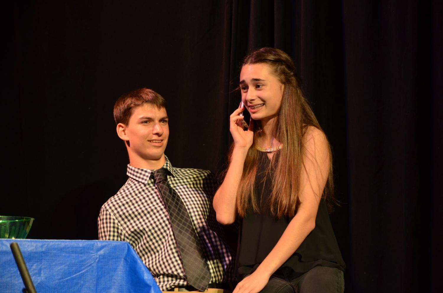 Acting 1, 2, and 3 perform at the annual Acting Showcase