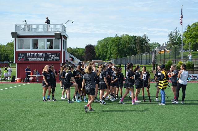 Although they didn't win, Hackley Girls' Varsity walked off the field with smiles and laughter, celebrating the end of an amazing season and looking forward to an even better one next year.