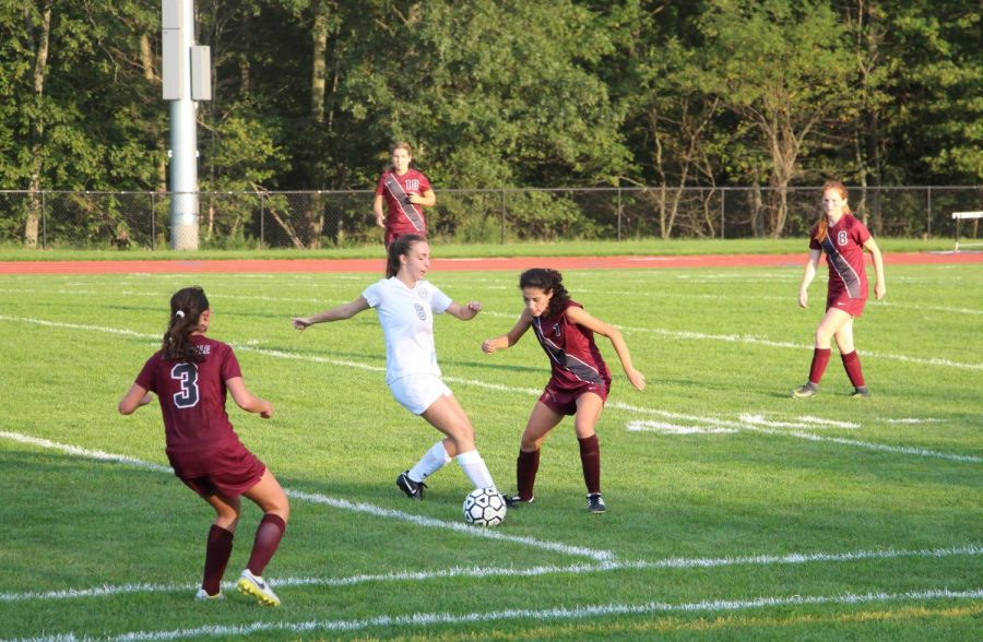 Senior Laura Walter-McNeill looks to lead the team in another successful season for Varsity Girls' Soccer.