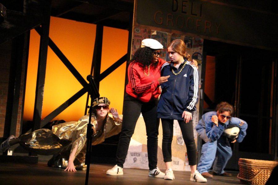 Seniors Kioni Marshall and Hannah Goodwin-Pierce starred as Antipholus and Dromio in their final US fall production.
