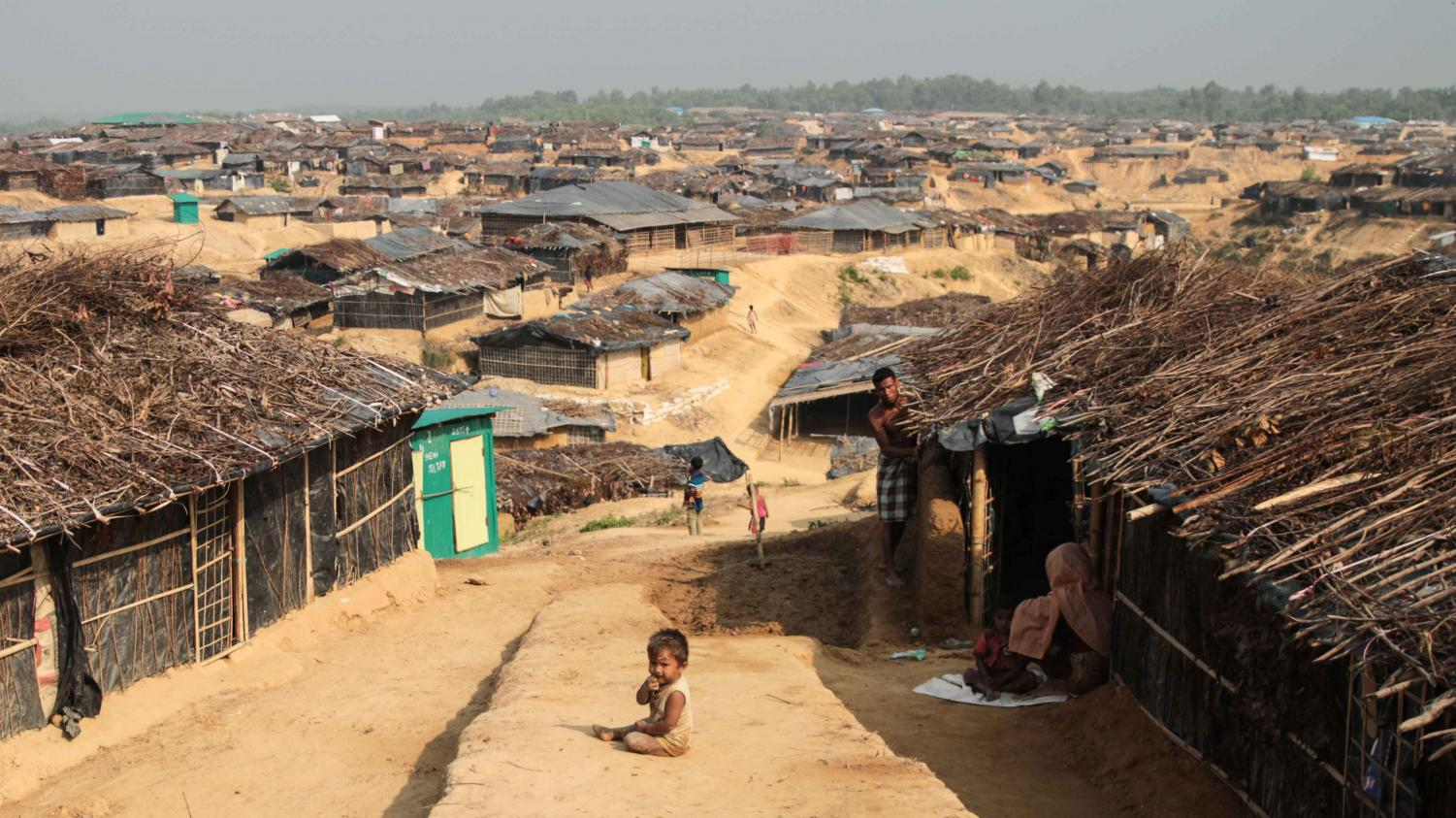 Rohingya Muslims face increasingly unpleasant conditions in refugee camps after escaping persecution in their native Myanmar.