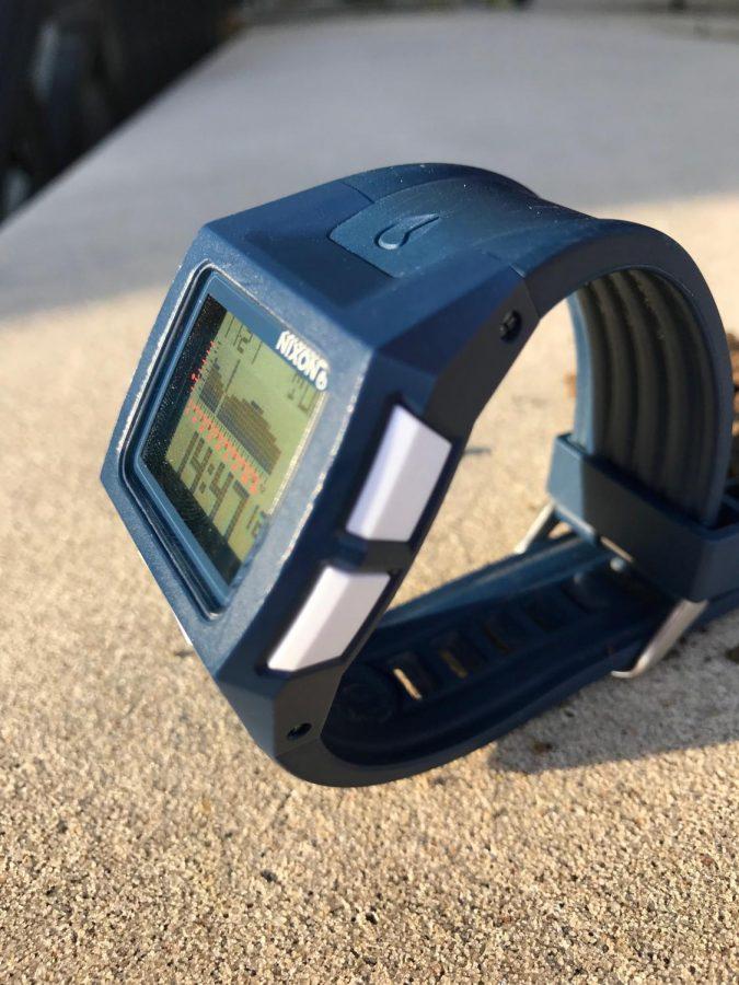 This Nixon watch allows athletes to maximize their performance.
