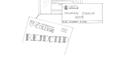 Should Seniors post college decisions/acceptance?