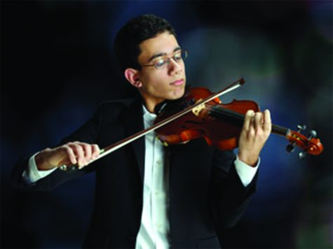 Rohun Rajpal selected for National Youth Orchestra concert tour