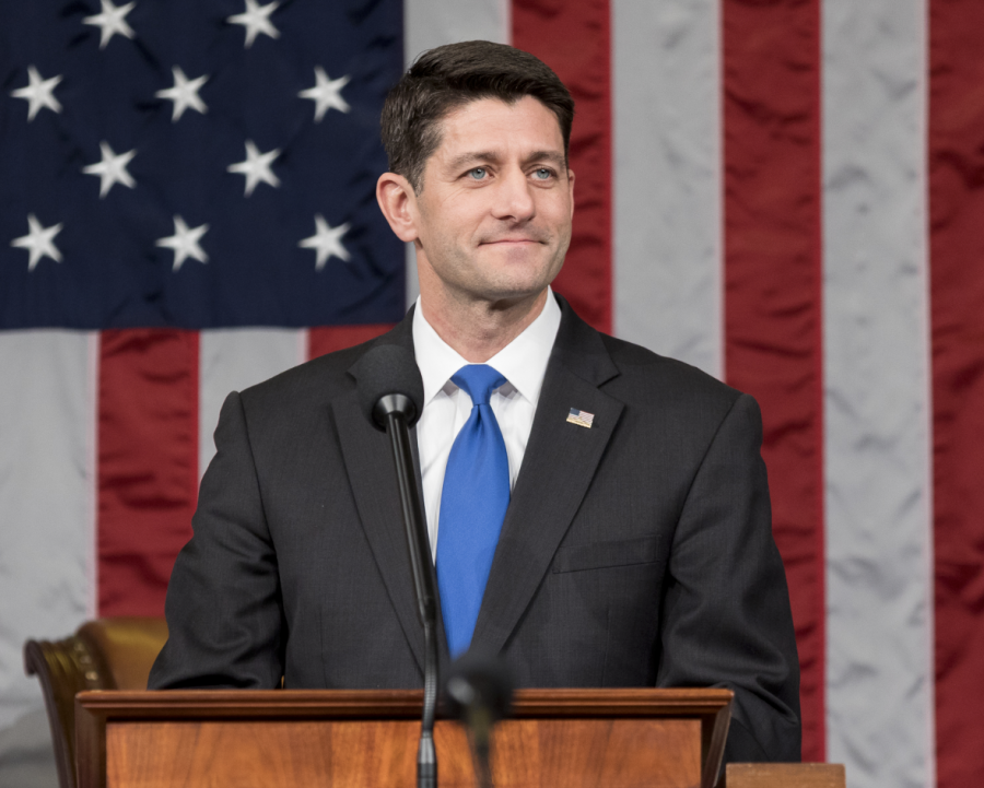 Paul Ryan announced his decision not to run for reelection in the 2018 Midterms. Ryan currently serves as the Speaker of the House of Representatives. At least 42 other House Republicans are vacating their seats this fall.