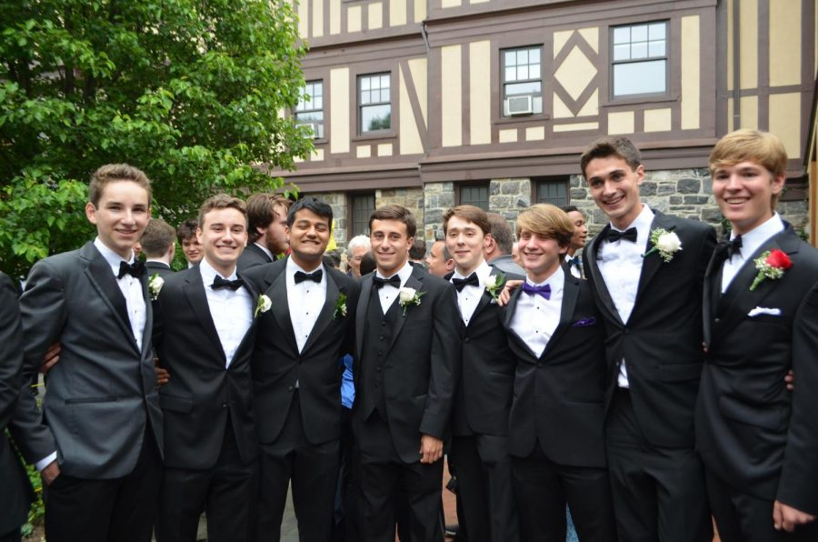 Seniors looking forward to their final high school prom, complete with fabulous food and an awesome D.J. for a night of dancing.