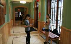 Juniors were challenged to write and present speeches on First Friday