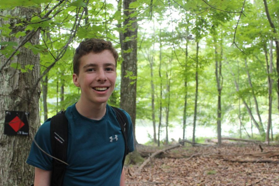 Sophomores travelled to a nature preserve for their First Friday activities. Such activities included hiking through the woods and using compasses and maps to travel about through the preserve.