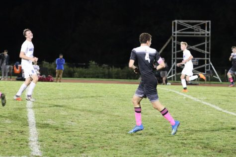 Senior Matthew Braver's diligent preparation helps him lead the boys soccer team