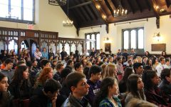 Chapel talks provide pedagogy, unity, and wellness to the Upper School