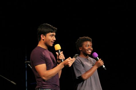 Coffee House hosts Zaya Gooding and Rahat Mahbub held the attention of the audience with jokes. Audience participation was another key component of Gooding and Mahbub