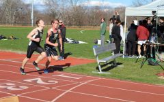 Track and Field team competes at the Sting for the first time