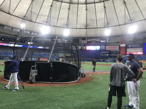 Tampa Bay Rays Internship Day 1