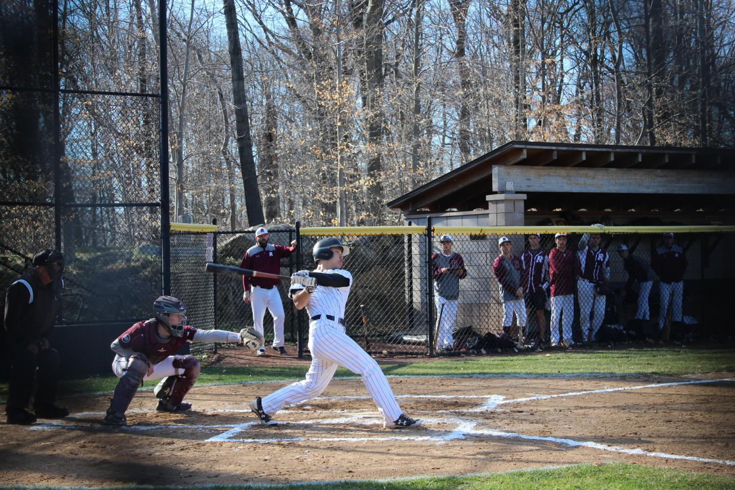 From making the varsity team as a freshman to facing challenges in his third season, Jason Mark has proven integral to the baseball team's success. Mark has overcome many challenges and worked hard to be able to step onto the field healthy this season.
