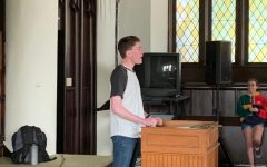 The beginning of chapel talks: seniors reflect and advise
