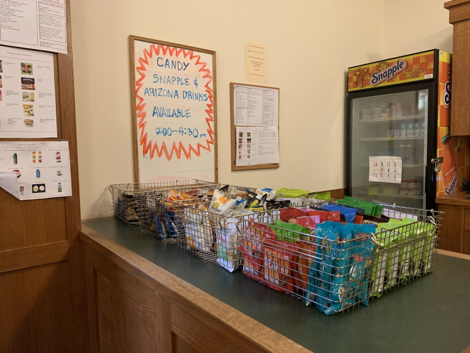 Before this year, students were free to buy sugary snacks and drinks at any point during the school day. This fall, that changed. Students have expressed their frustrations with the new policy, but have admitted that not being able to buy what they want has saved them a lot of money.