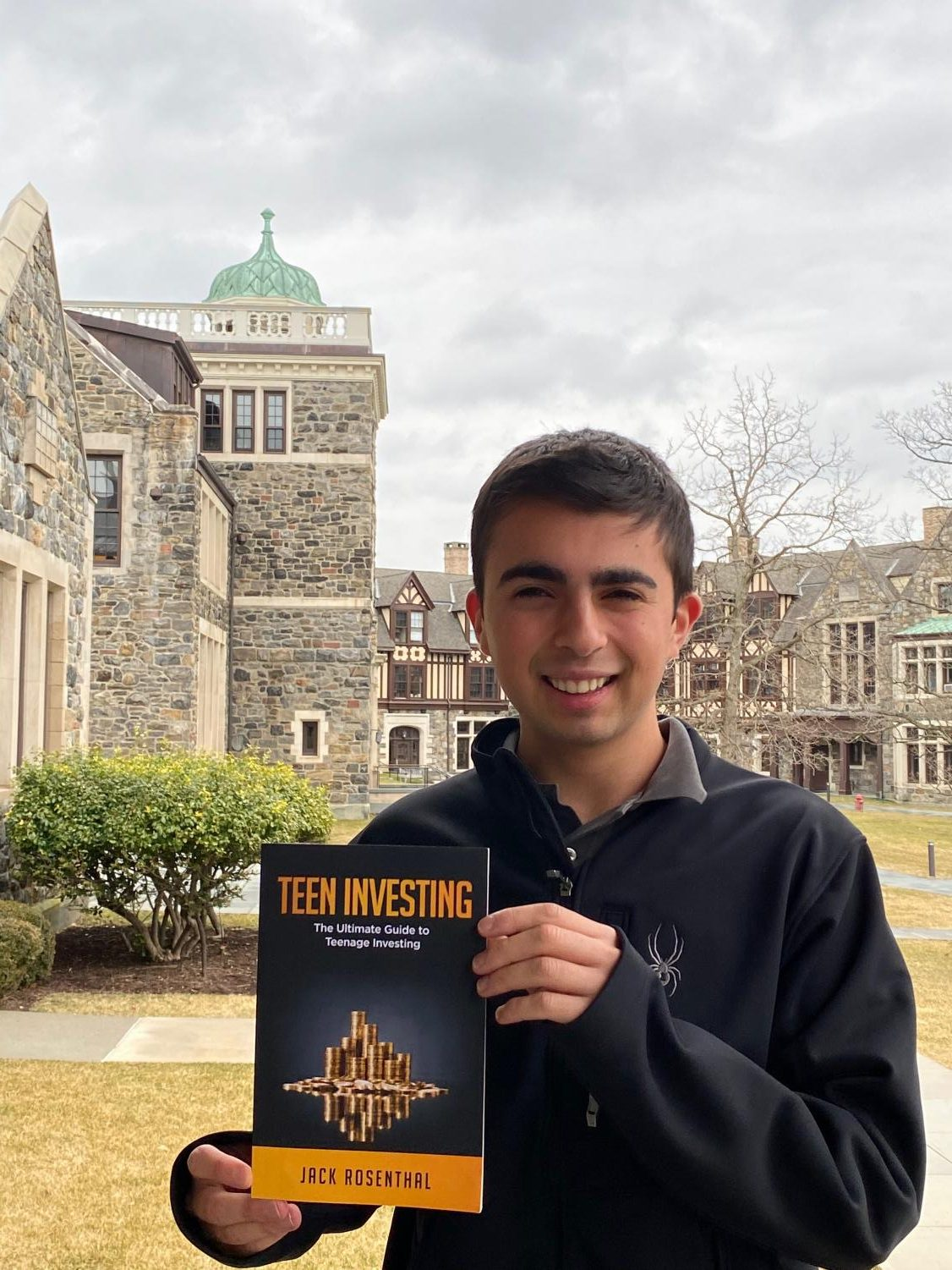 Senior Jack Rosenthal is excited to share his knowledge of investing in all his future endeavors. He is attending Babson College due to its prestigious business program. He plans to maintain involvement with this subject after he has left the Hilltop.
