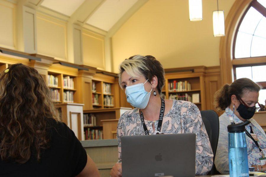 Ms. Swan Takes on Hackley Libraries