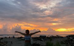 Camille Henderson loved walking to the beach near where she was staying on the Nicoya Peninsula after a day of community service. Camilles favorite part of the day, even back at home, is watching the sunset.